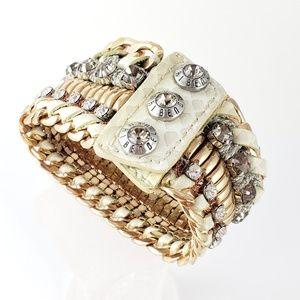 henri bendel Bracelet Gold Deluxe Girlfriend Cuff